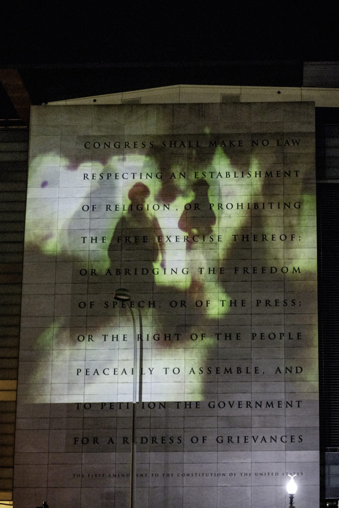 These Are Clear Proofs Projection