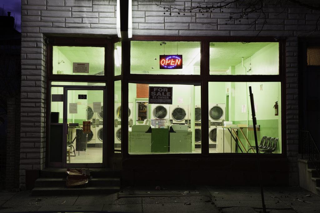 Laundromat, Reading PA, 2012