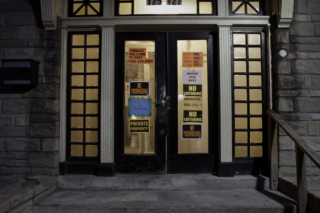 Apartment Building Entrance, Reading PA, 2012