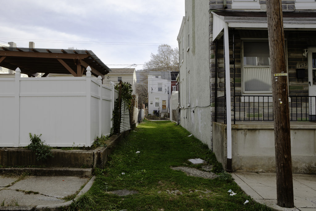 Alley, Reading PA, 2013